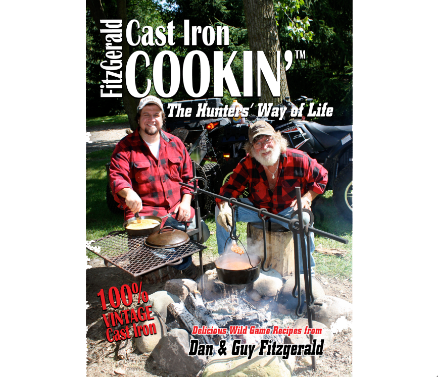 FITZGERALD CAST IRON COOKIN' THE HUNTERS' WAY OF LIFE DVD