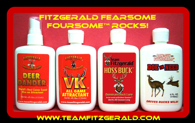 FITZGERALD FEARSOME FOURSOME SCENT & DVD DISCOUNTED PACKAGE