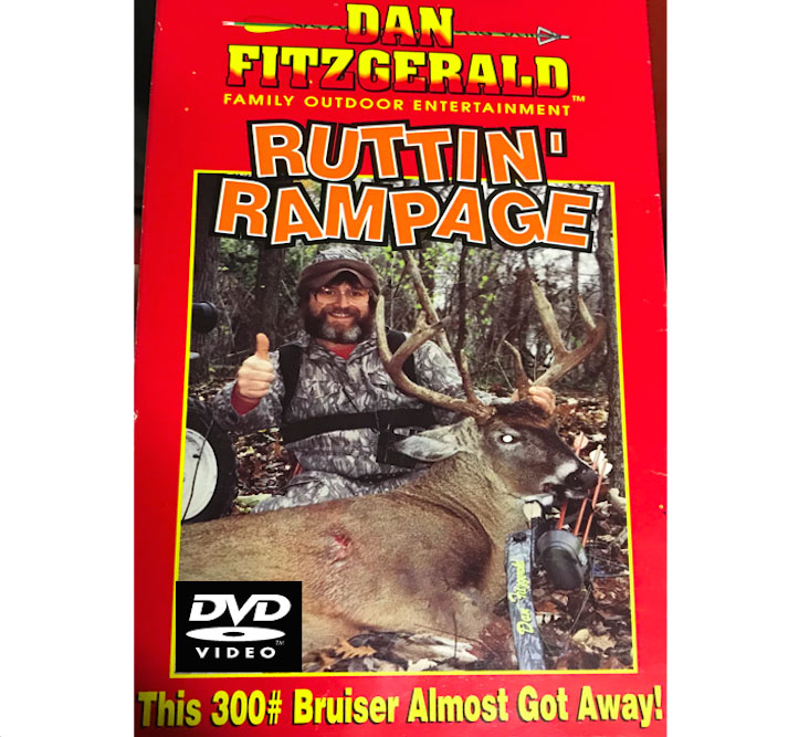 FITZGERALD RUTTIN RAMPAGE REMASTERED TO DVD + 1 DD
