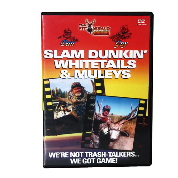 FITZGERALD SLAM DUNKIN' WHITETAILS CLASSIC ON DVD
