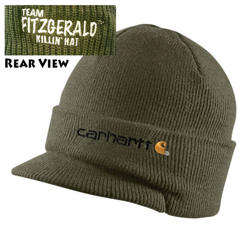 DAN FITZGERALD KILLIN HAT CARHARTT - ARMY GREEN
