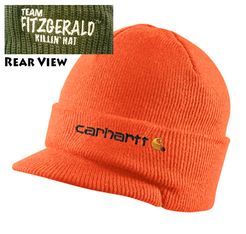 DAN FITZGERALD KILLIN HAT CARHARTT - HUNTER ORANGE