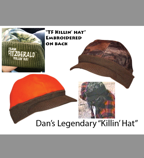 DAN FITZGERALD SIGNATURE KILLIN' HAT REVERSIBLE CAMO
