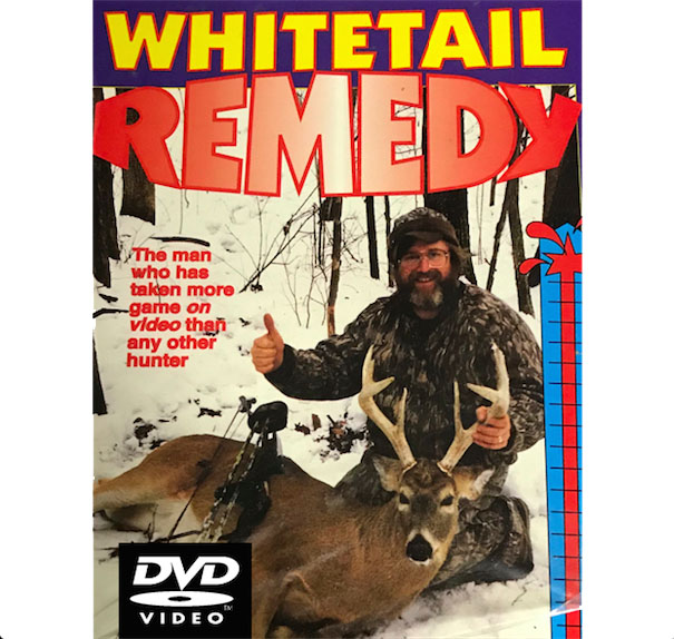 FITZGERALD WHITETAIL REMEDY REMASTERED TO DVD + 1 DEER DANDER